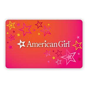 American Girl Doll Gift Cards - american girl traditional gift cards american girl 174
