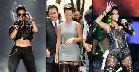 News Fashion News Alert by Rihanna Photos Trend Alert Thigh High Boots Are Back