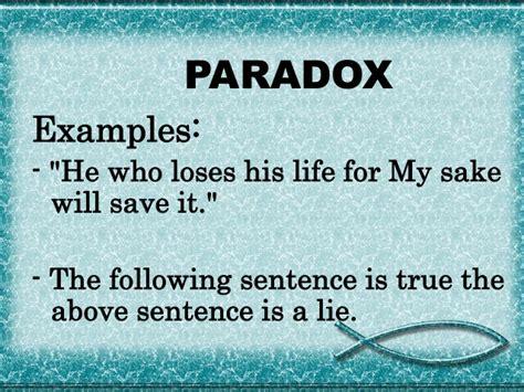 exle of paradox figures of speech leonard sardan 2sed en