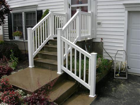 Vinyl Handrail Iroquois Fence