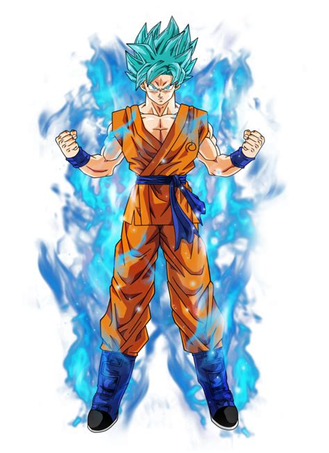 imagenes de goku white goku super saiyan blue by bardocksonic on deviantart