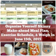 make ahead dinner starters keep it on exercise schedule starter