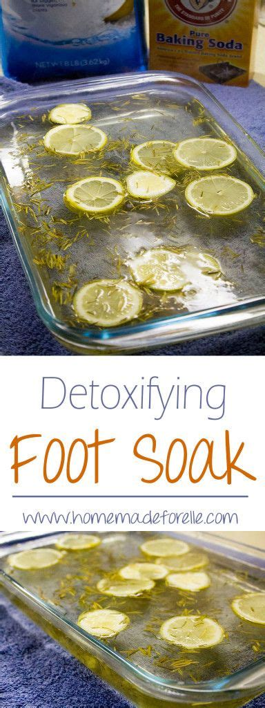 Soak Lemon Rind Detox by Foot Soaks Foot Soaks And Detox On