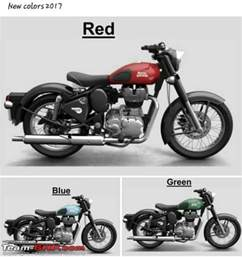 new colors for 2017 team bhp new colours for the royal enfield classic in 2017