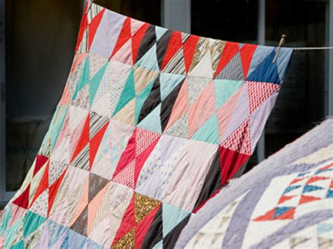 Make Your Own Patchwork Quilt - how to make your own patchwork quilt green living the