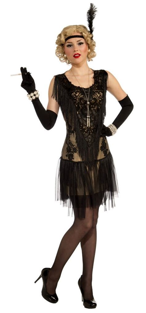 costume flapper flapper roaring costume ideas 1920s era costumes lacy lindy adult flapper costume candyapplecostumes