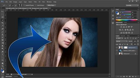 adobe photoshop tutorial how to change background colour adobe photoshop cs6 remove change background youtube