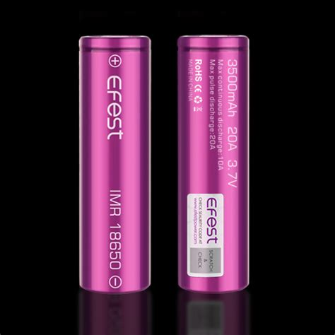 Efest Purple Imr 18650 Li Mn Battery 2600mah 3 7v 40a With Flat T T30 efest purple imr 18650 li mn battery 3500mah 3 7v 20a with flat top purple jakartanotebook