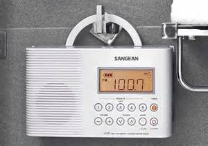 sangean america inc sngh201 am fm digital shower radio