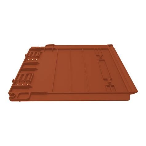 Plastic Roof Tiles Envirotile Plastic Lightweight Roofing Tile In Terracotta Pack Of 10 Roofing Superstore 174