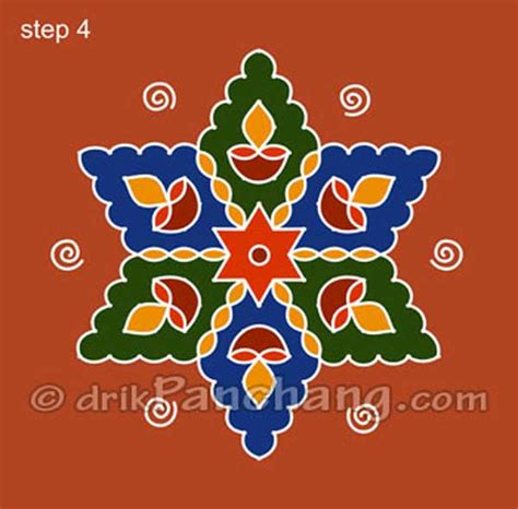 dot pattern rangoli rangoli with dots 10 easyday
