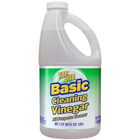 top job basic cleaning vinegar all purpose cleaner 64 fl oz walmart com