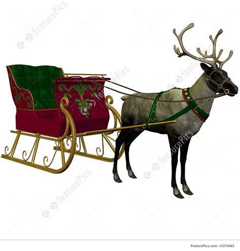 where to buy a sled and reindeer for the roof of your house illustration of reindeer and sleigh
