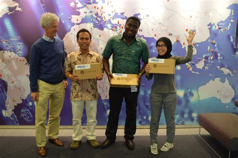 congratulations   winners   hp tablet lottery draw ihe delft institute  water