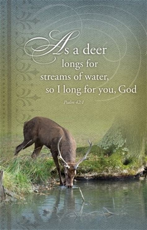 As the Deer Panteth   Parable Christian Stores