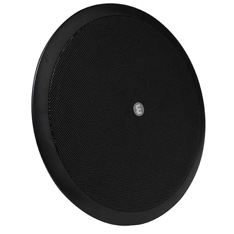coaxial ceiling speaker black with transformer 8 quot 10w