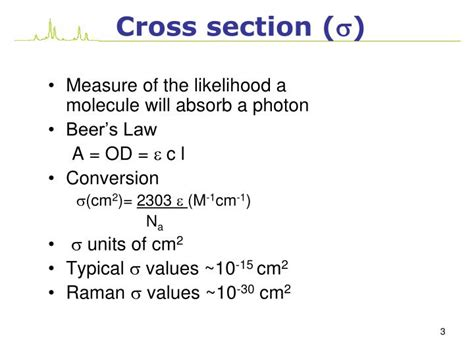 raman scattering cross section ppt scattering of light raman spectroscopy powerpoint