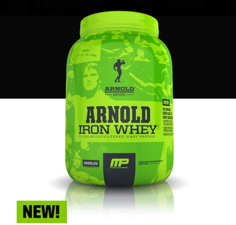 Arnold Iron Whey Iron Whey By Arnold Schwarzenegger Series At Bodybuilding