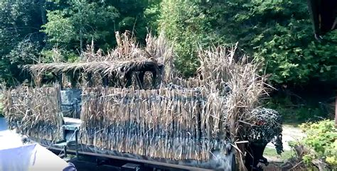 maine duck hunting boats diy turn your pontoon boat into a duck hunting blind
