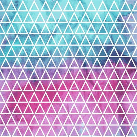 watercolor seamless pattern vector seamless geometric pattern on watercolor winter