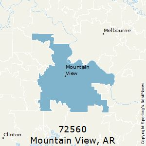 best places to live in mountain view (zip 72560), arkansas