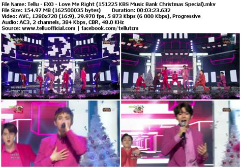download mp3 exo love me right k2nblog download perf exo love me right kbs music bank