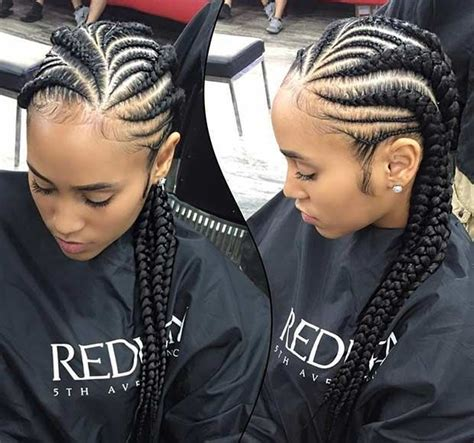 latest ghana weaving all back ghana weaving all back styles african hairstyles for ladies