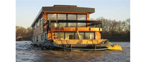 Handmade Houseboats - uk houseboat quot victory quot is custom designed and build by