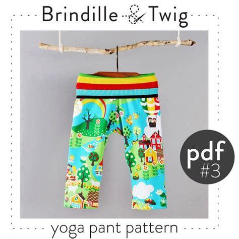 sewing pattern yoga pants kids yoga pants pdf pattern photo tutorial preemie