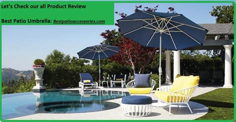 Best Patio Umbrella by Best Patio Umbrella Stylish And Affordable Outdoor Umbrellas
