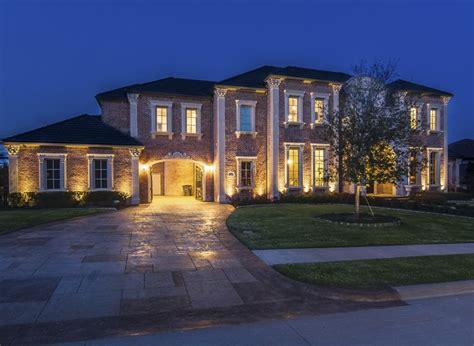 houses in allen tx 3 849 million brick mansion in allen tx homes of the rich