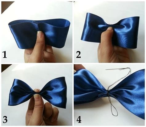 How To Make A Ribbon Bow Out Of Paper - satin ribbon hair bow 183 how to make a ribbon hair bow