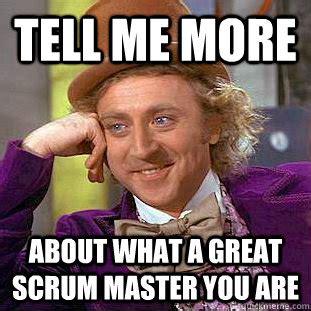 Agile Meme - the scrum master movie