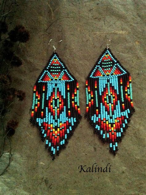 beadwork jewelry style beadwork style earrings