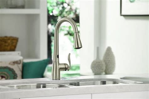 who makes the best kitchen faucets moen 7594esrs arbor kitchen faucet best touchless