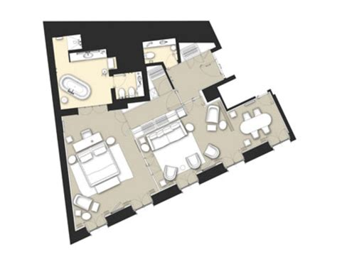 hotel suite floor plans luxury rooms in london knightsbridge suite bulgari