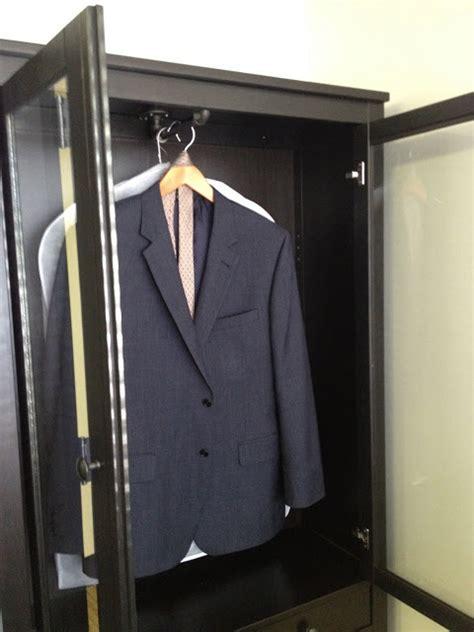 Wardrobe from HEMNES Glass Door Cabinet   IKEA Hackers