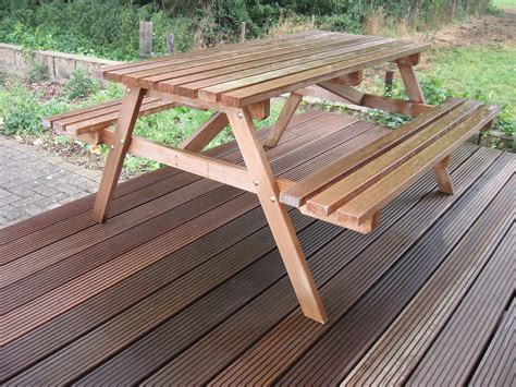 hardwood picnic bench economy hardwood picnic table