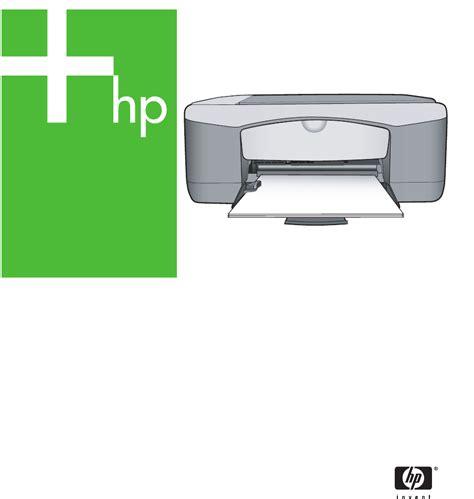 Printer Hp F2100 handleiding hp deskjet f2100 all in one series pagina 1 154 nederlands
