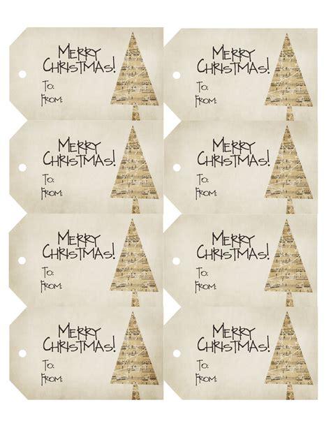 vintage christmas gift tags printable free urban daisies christmas gift tags