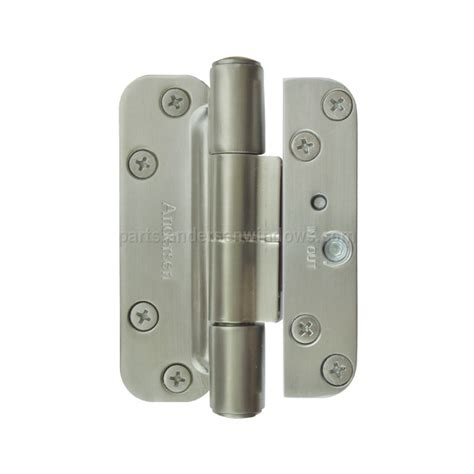 Patio Door Hinges Hinge Kit Satin Nickel Left Andersen Windows And Doors