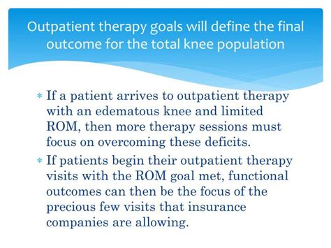 Outpatient Detox Definition by Ppt Fundamental Treatment Of A Knee Replacement