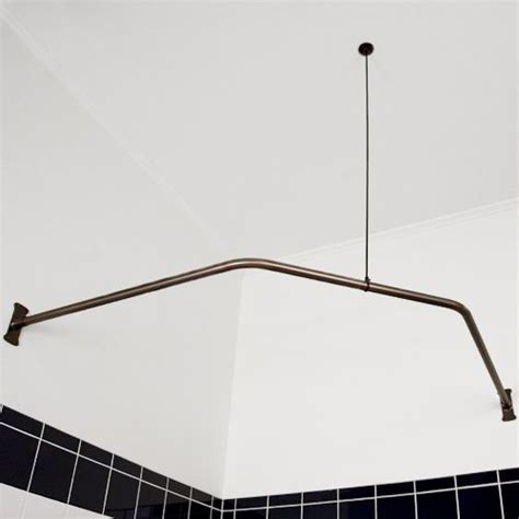 Shower Curtain Rods For Corner Showers by 17 Best Ideas About Shower Rod On Kitchen
