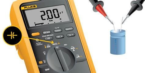 how to test a capacitor by multimeter what is capacitance