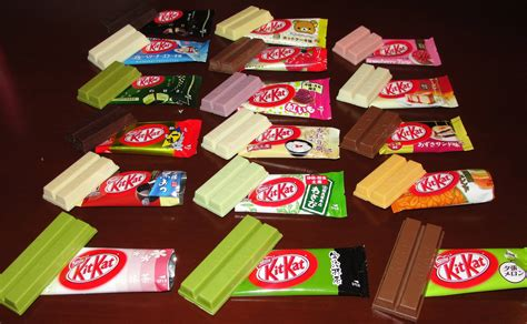 The Flavours Of japanese kit kats come in 200 flavours lazer