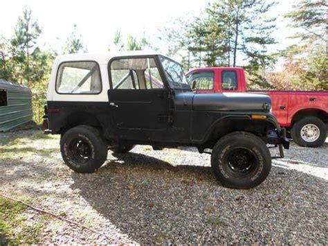 Jeep Cj Project For Sale Sell Used 1980 Jeep Cj7 Project Car In Stuart Virginia