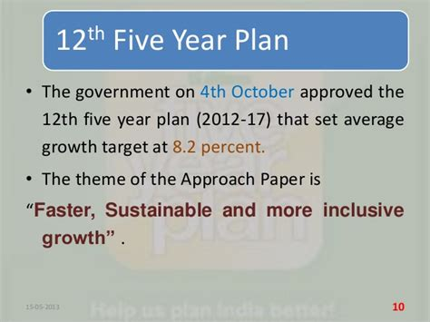 Essay On 11th Five Year Plan Of India by India S 12th Five Year Plan