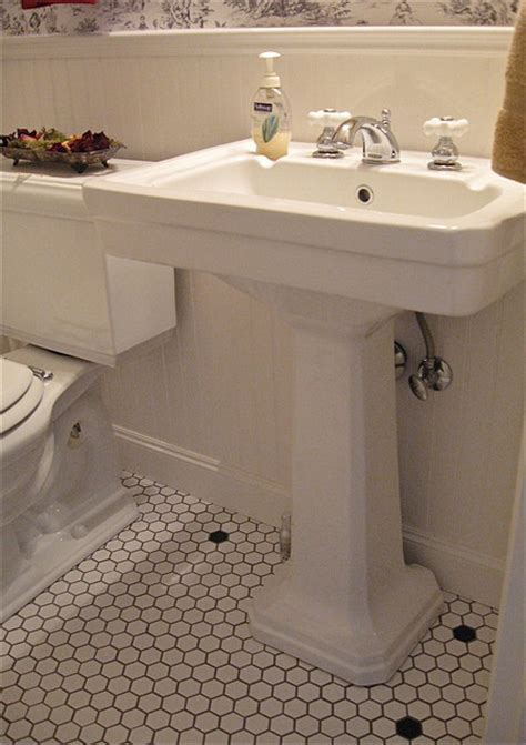 powder room sinks vintage style powder room vintage style pedestal sink
