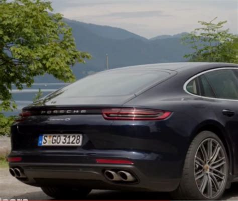 blue porsche panamera 2017 2017 porsche panamera 4s diesel blue metallic and