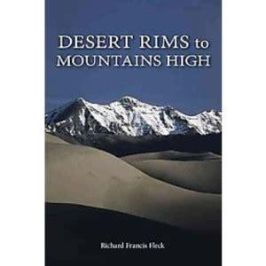 book review–desert rims to mountains high – colorado